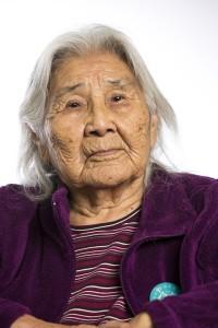 Alaskan elder Katie John passed away on Friday.(Chris Arend / Ahtna, Incorporated / APRN)