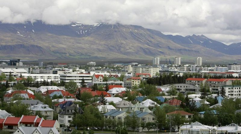 View across Reykjavík in Iceland from Öskjuhlíd Hill. (Kirsty Wigglesworth, File / AP)