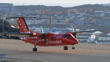Air Greenland's service between Iqaluit and Nuuk was less successful than hoped. (CBC)