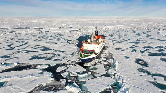 Could the Arctic Ocean be one of the keys to future Finnish success? (EPA / Mario Hoppmann / Alfred Wegener Institute)