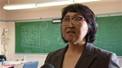 Helen Klegenberg, a justice of the pease in Nunavut, said going out of the territory for law school isn't a very good option since a student would be so far removed from what is happening in the territory. (CBC)