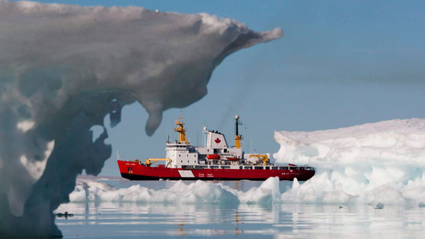 The Coast Guard shut down its Marine Communications and Traffic Service Centre in Inuvik after last season.(Sean Kilpatrick/The Canadian Press)