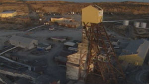 There are 237,000 tonnes of toxic arsenic trioxide dust stored in massive chambers below Giant Mine. (CBC)