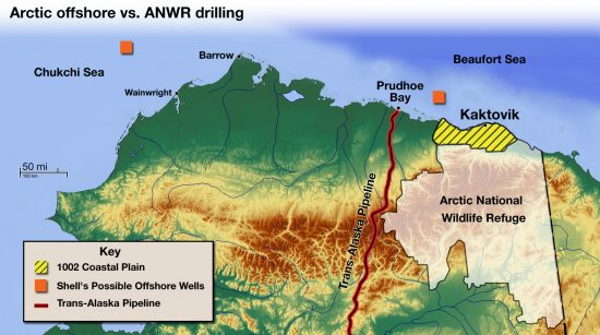 Anwr Alaska Map.Alaska Lobbying Group Wants Anwr Drilling Eye On The Arctic