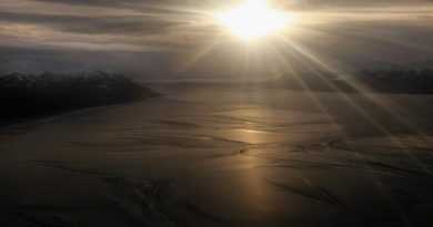 Turnagain Arm fjord in Alaska. (John Moore / Getty Images / AFP)