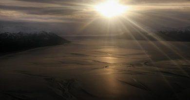 Turnagain Arm fjord in Alaska. (John Moore / Getty Images / AFP)
