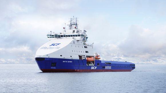 The Arctech shipyard in Helsinki is part-owned by Russians. (Arctech Helsinki Shipyard)