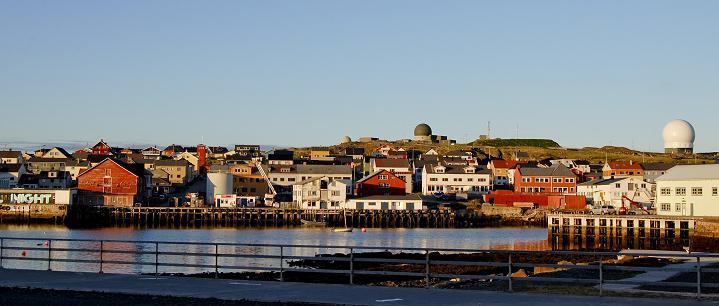 The town of Vardoe in Norway's Arctic. (Pierre-Henry Deshayes / AFP)