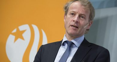 Vattenfall's CEO Oystein Loseth on February 12, 2013. (Jonas Ekstromer/ Scanpix / AFP)