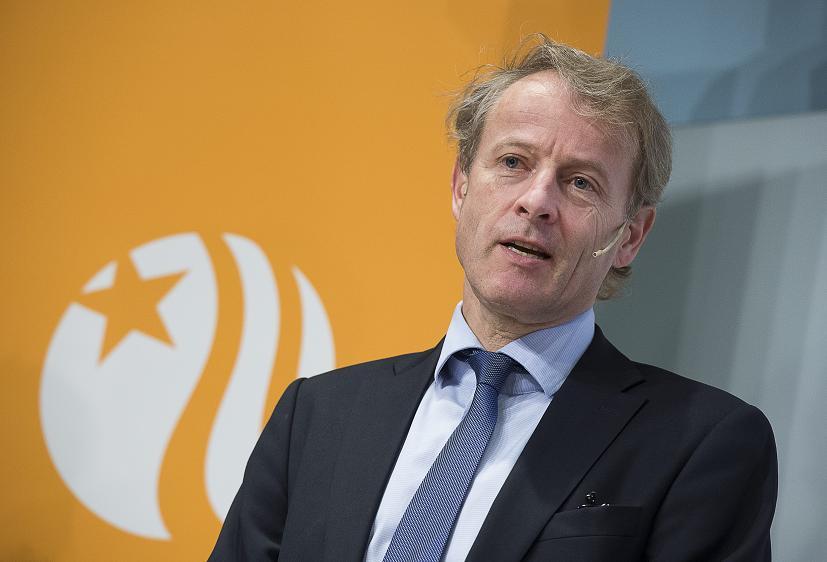Vattenfall's CEO Oystein Loseth on February 12, 2013. (Jonas Ekstromer/ Scanpix / AFP)