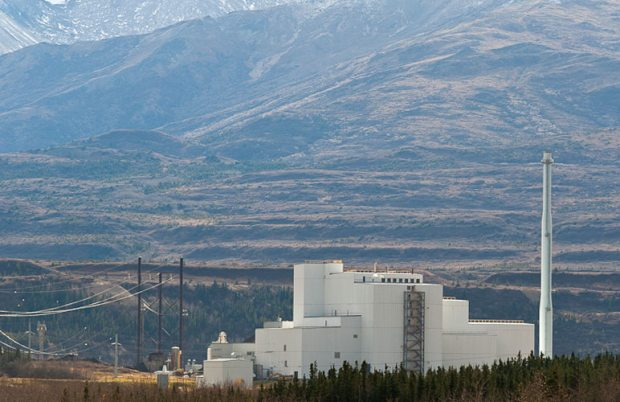 The Healy Clean Coal plant near Denali National Park in Healy may yet end up producing electricity for consumers. (Robert Lype / courtesy Alaska Dispatch)