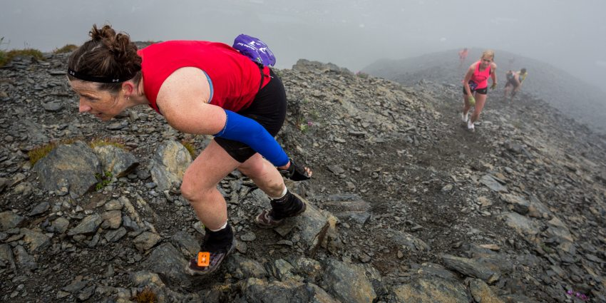 Alaska's 2013 Mount Marathon. (Loren Holmes / Alaska Dispatch)