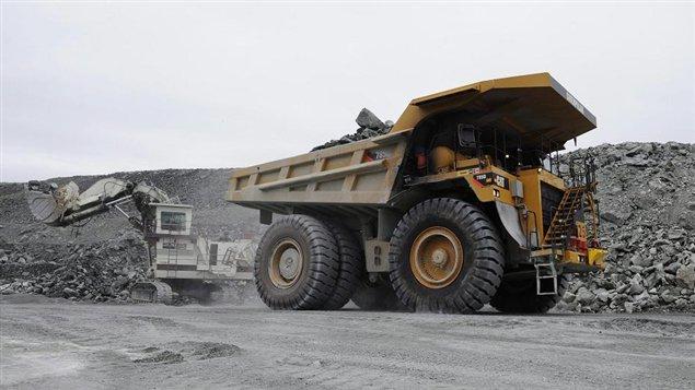 An Agnico Eagle Mines operation in Canada's eastern Arctic territory of Nunavut. (Sean Kilpatrick / The Canadian Press)