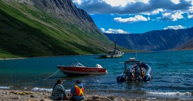 North Arm, Torngat Mountains National Park.
