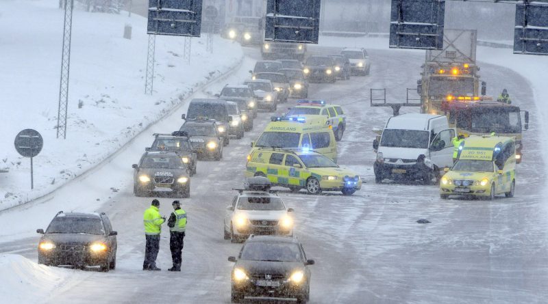Road in Stockholm, Sweden. Sales of electric cars in the country remain tiny. (Johan Nilsson / SCANPIX / AFP)