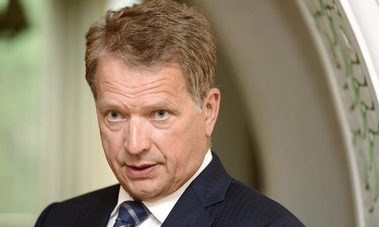 Finnish President Sauli Niinistö (pictured here in 2012) says NATO's free ride arrangement cannot ensure national security. (Heikki Saukkomaa / Lehtikuva / AFP)