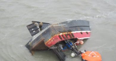 """Ray Fortin, salvage master with Resolve Marine, said the Lone Star is one of the """"more dangerous"""" operations that he's overseen in his 18 years on the job. (Courtesy Alaska Department of Fish and Game / Alaska Dispatch)"""