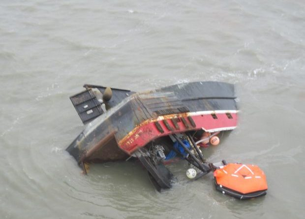 Treacherous conditions plague cleanup of sunken vessel in for California fish and game jobs