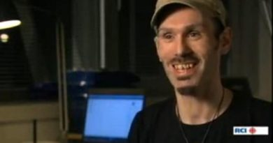 TuuMotz, one of the founders of Nuuk Posse, Greenland's seminal hip-hop group. (Eye on the Arctic / Radio Canada International)