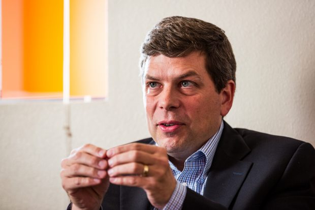 Sen. Mark Begich said Monday that efforts to drill in the U.S. Arctic offshore will require 5,000 workers, including scientists for environmental studies, food service providers for work camps and carpenters and architects working on housing. (Loren Holmes / Alaska Dispatch )