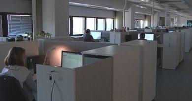 Some 60 officials now check visa applications in Kouvola. (Tuuli Liekari / Yle)