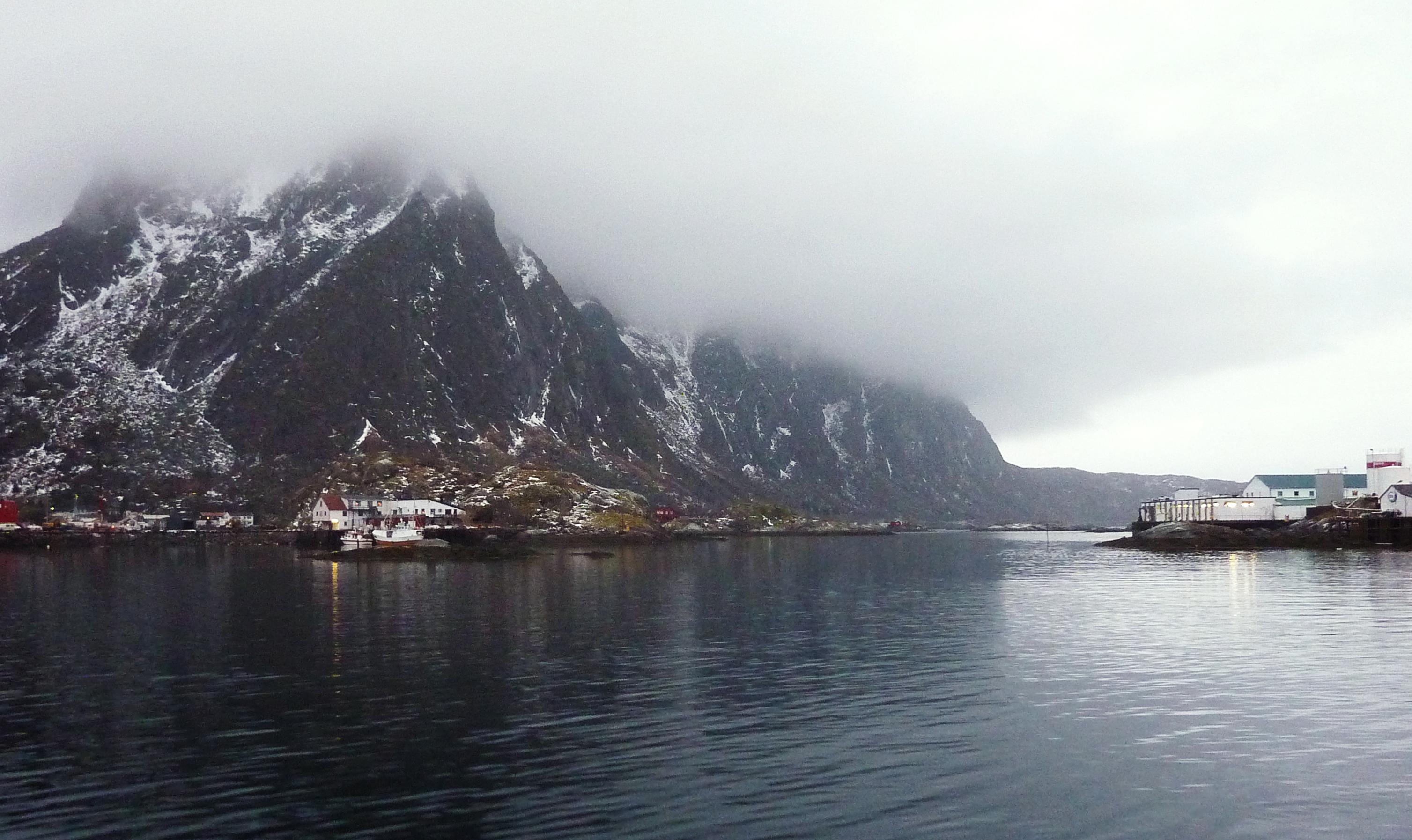 The Norwegian Sea off Norway's Arctic archipelago Lofoten. (Nina Larson / AFP)