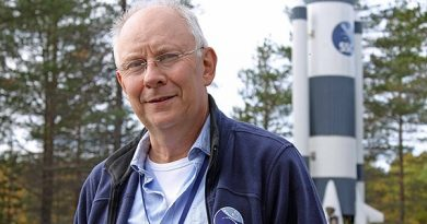 Anders Jörle, Swedish Space Corporation.(Alexander Linder / Sveriges Radio )