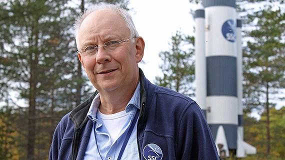 Anders Jörle, Swedish Space Corporation.(Alexander Linder / Sveriges Radio )