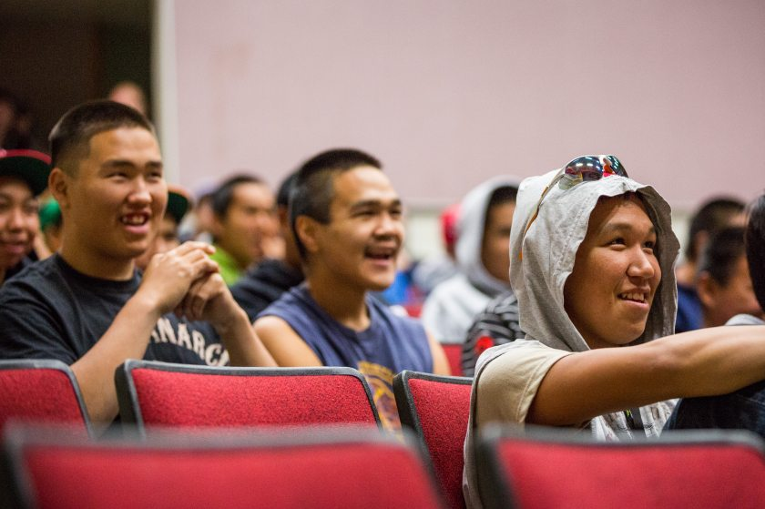 New Students Attend Orientation On The Day Before The First Day Of School  In Galena.
