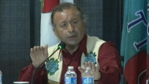 Dene National Chief Bill Erasmus says Canada has the wrong strategy in trying to deal with violence against aboriginal women. (CBC)
