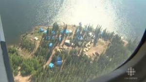 Avalon's Nechalacho project would be a major rare earths mine. (CBC)