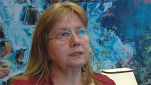 Arlene Hache, a women's rights activist in Yellowknife, says mental health resources in the North are nowhere near adequate. (CBC)