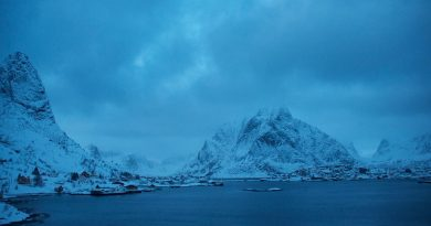 Reine, Lofoten Islands, Norway. (Mia Bennett, January 2013)