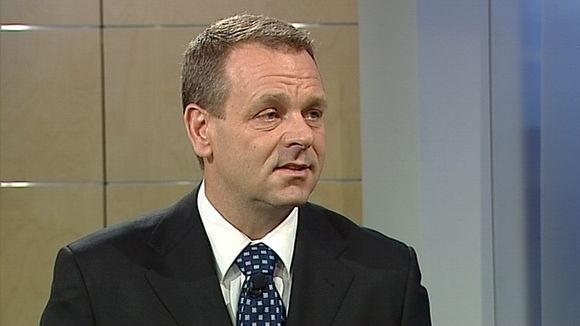 Jan Vapaavuori is the former leader of the conservative National Coalition Party's parliamentary group. (Yle)