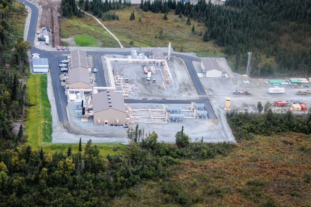 Gas producers have stored enough gas in the Cook Inlet Natural Gas Storage facility in Kenai, Alaska, to supply energy demand in Alaska's most populous region for weeks on end. Courtesy ENSTAR