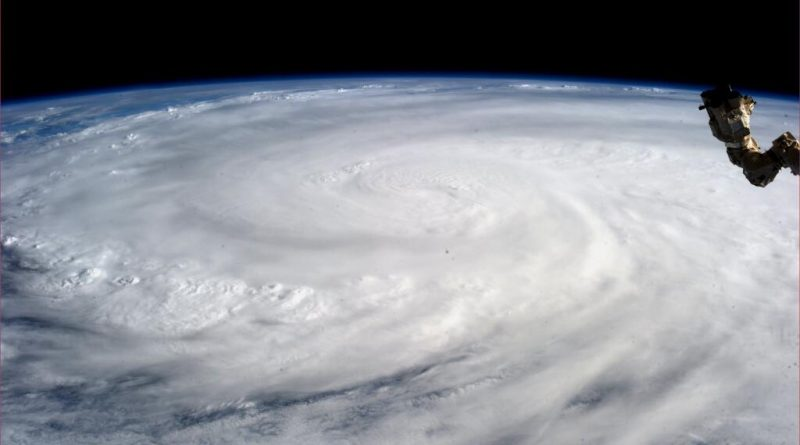 Super Typhoon Haiyan from the International Space Station on November 9, 2013. (Karen L. Nyberg / NASA / AFP)