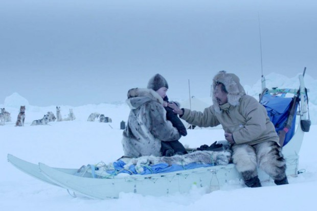 Scene from Aningaaq. (Warner Brothers)