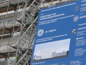 UN climate agreement – a work in progress (Pic: I. Quaile, UN Campus Bonn)