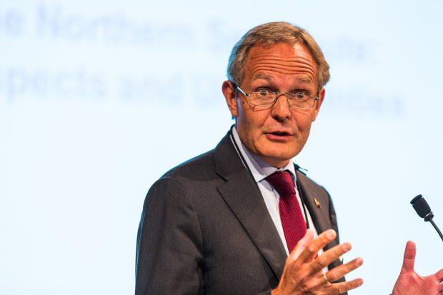 Felix Tschudi, head of Tschudi Shipping Company based in Norway. (Loren Holmes / Alaska Dispatch)