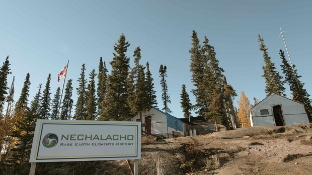 The Nechalacho rare earth project at Thor Lake, 100 kilometres east of Yellowknife. (Avalon Rare Metals Inc. )