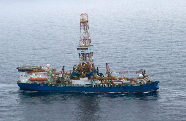 Shell's drill ship Noble Discoverer. (U.S. Coast Guard photo)