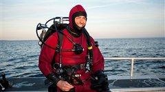Ryan Harris, senior marine archaeologist, Parks Canada (Parks Canada)