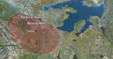 ConocoPhillips plans to use fracking in drilling two wells in the Sahtu Region of the Northwest Territories this winter. (CBC)