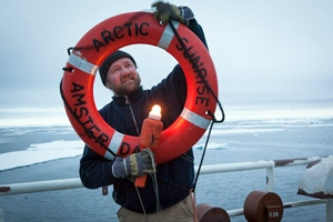 Paul Ruzycki, chief mate on the Arctic Sunrise, has been with Greenpeace for 25 years. (Courtesy Ruzycki family)