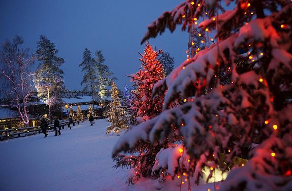 La ville de Rovaniemi, en Finlande, 2011. (Jonathan Nackstrand / AFP)