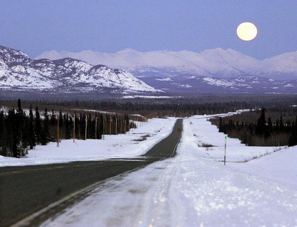 The Alaska Highway in Canada's northwestern Yukon territory.   (Archive photo / Chuck Stoody / The Canadian Press)
