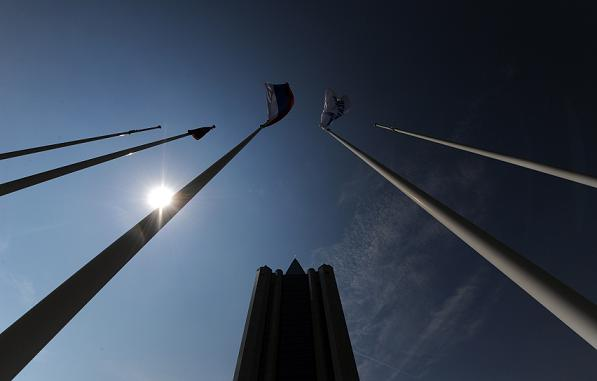 Le siège social de Gazprom à Moscou. (Vasily Maximov / AFP)