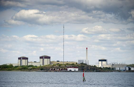 Sweden's Ringhals atomic power station in on June 21, 2012.