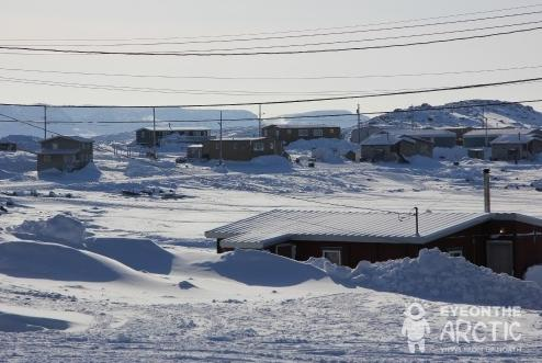 The Arctic Canadian community of Ukukhaktok in Canada's Northwest Territories. A move to reduce diesel use in community's like this one, were among your most read stories this week. (Eilís Quinn / Eye on the Arctic)