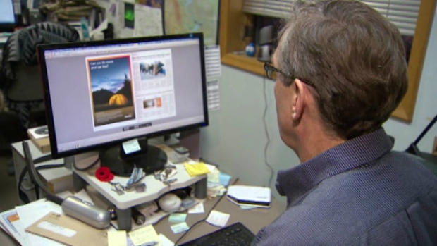 Don Jaque, publisher of the Northern Journal in Fort Smith, Northwest Territories, says a territorial government decision to move its job advertising online could kill northern newspapers. (CBC)